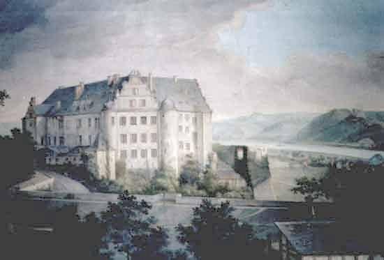 Schloss Arensfels around 1670